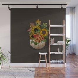 Autumn Bouquet Wall Mural