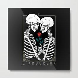 VI The Lovers Metal Print