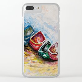 In from the Sea Clear iPhone Case