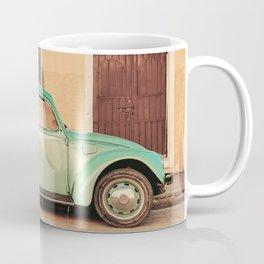 Vintage Beetle (Color) Coffee Mug
