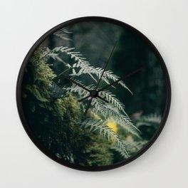 Ferns VII Wall Clock