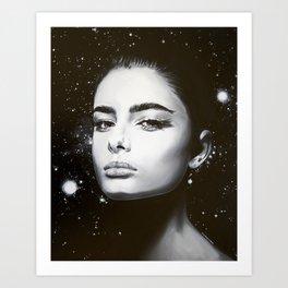 Celestial Lumina Art Print