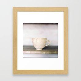 cup of kindness Framed Art Print
