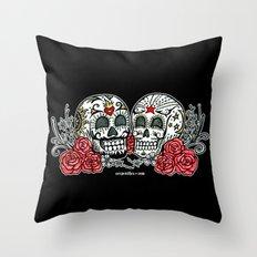 Mischief and Mayhem Throw Pillow