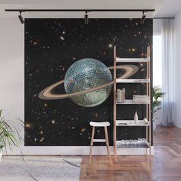Saturn Disco II Wall Mural