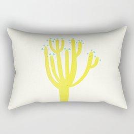 Modern Cactus Rectangular Pillow