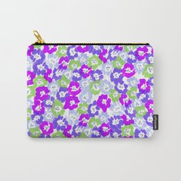 Morning Glory - Violet Multi Carry-All Pouch