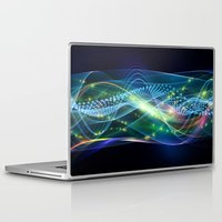 data Laptop & iPad Skins featuring Data Transmission by Tom Lee