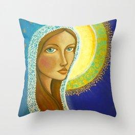 Salve Regina Throw Pillow
