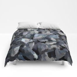 Shades of Gray Tapestry Comforters