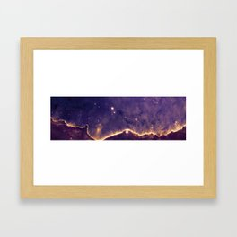 Gaseous Cavity Framed Art Print