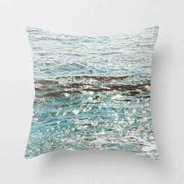 Teal Dreams Throw Pillow