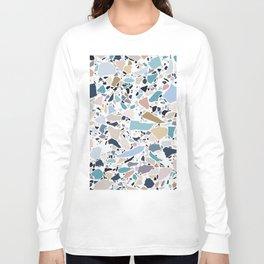 Pastel Terrazzo Long Sleeve T-shirt