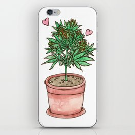 for the love of cannabis iPhone Skin