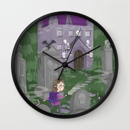 Exploring the Graveyard Wall Clock