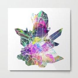crystals 1 Quartz Metal Print