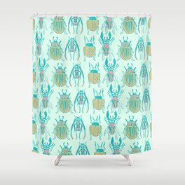The Beetles Shower Curtain