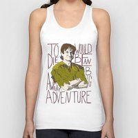 robin williams Tank Tops featuring Robin Williams Hook Peter Pan Quote  by kdwdesigns