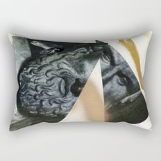 Untitled (Painted Composition 12) Rectangular Pillow