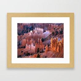 Bryce National Park Framed Art Print