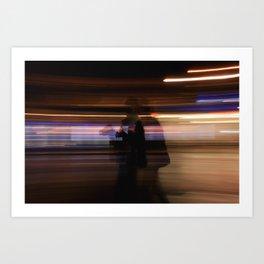 Everything Is A Blur Art Print