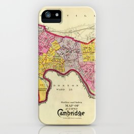 Cambridge Massachusetts 1903 iPhone Case