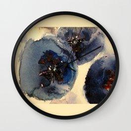 Bluberries Wall Clock