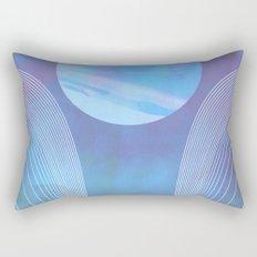 Blue Portal Rectangular Pillow