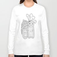 bears Long Sleeve T-shirts featuring bears by s t i n g s