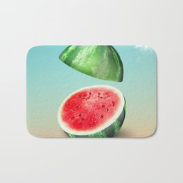 Watermelon Vignette Bath Mat