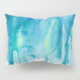 Abstract Watercolor Painting Pillow Sham