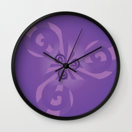 Triskelion Wall Clock