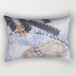 Ho in mente tutti i sogni del mondo Rectangular Pillow