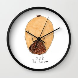 bob The Postman Wall Clock