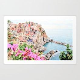 Beautiful Positano, Italy Photography in HD Art Print