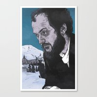 kubrick Canvas Prints featuring Stanley Kubrick by Andy Christofi