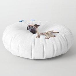 A Pug's Life (Wordless) Floor Pillow