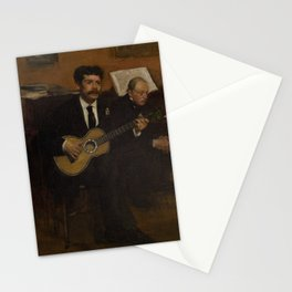 Lorenzo Pagans and Auguste de Gas Stationery Cards