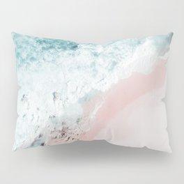 Ocean Pink Swirl Pillow Sham