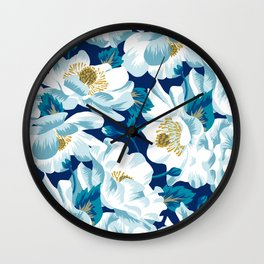Mount Cook Lily (Night) Wall Clock