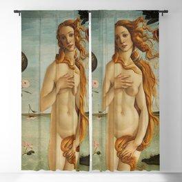 The Birth of Venus detail Blackout Curtain