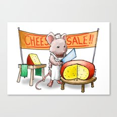 The Cheese Monger Canvas Print