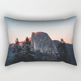 Last Light at Yosemite National Park Rectangular Pillow