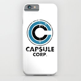 Capsule Corp Vintage bright iPhone Case