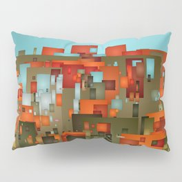 Abstract city in color by lh Pillow Sham