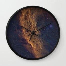 California Nebula Wall Clock