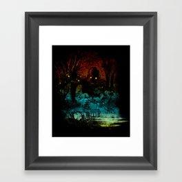 the last story Framed Art Print