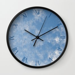 Abstracts of condensation water flowing down Wall Clock