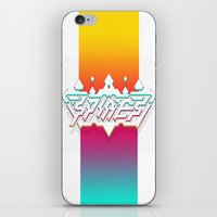 spires iPhone & iPod Skins featuring Spires : Crystyl Cystlys Spectrym  by Spires