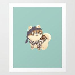 The Pirate Boatswain Art Print
